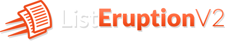 List Eruption